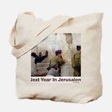 Next Year In Jerusalem Tote Bag
