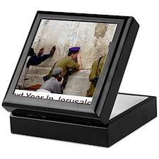 Next Year In Jerusalem Keepsake Box