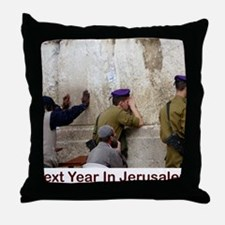 Next Year In Jerusalem Throw Pillow