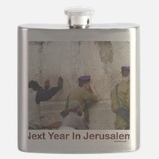 Next Year In Jerusalem Flask