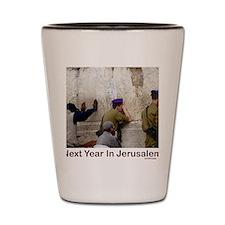 Next Year In Jerusalem Shot Glass