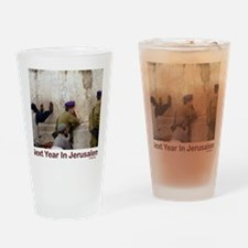 Next Year In Jerusalem Drinking Glass