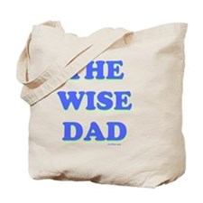 THe Wise Dad flat Tote Bag