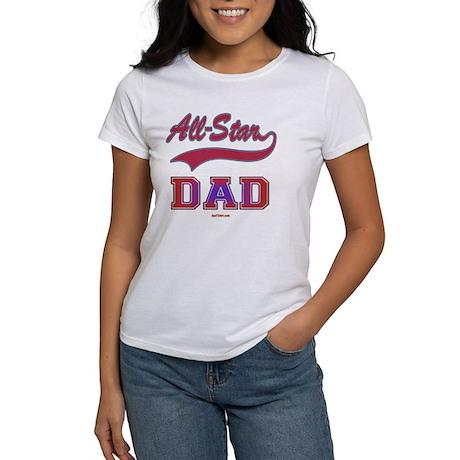 3-All Star Dad flat Women's T-Shirt