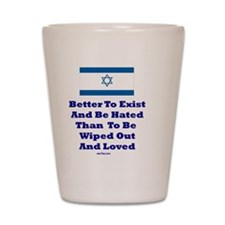 Better to Exist Flat Shot Glass