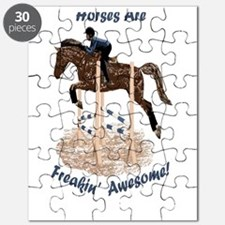 Horses Are Freakin' Awesome Puzzle