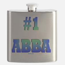 #1 Abba flat Flask