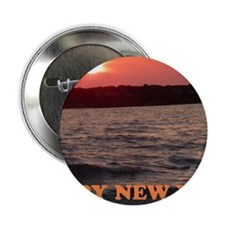 """Happy New Year Sunset 2.25"""" Button"""