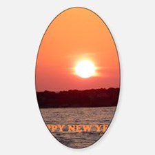 SUNSET HAPPY NEW YEAR C Decal