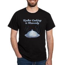 KosherCooking-WHITE flat T-Shirt