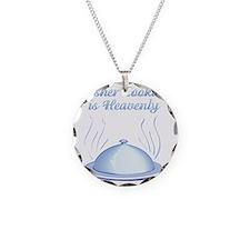 KosherCooking-WHITE flat Necklace