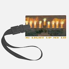 Lite Up Light 14x6 Luggage Tag
