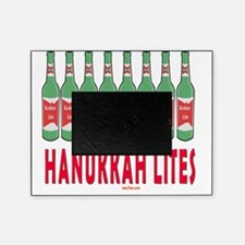 Hanukkah Lites flat Picture Frame