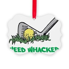 Weed Whacker flat Ornament