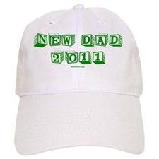 New Dad 2011 flat Baseball Cap
