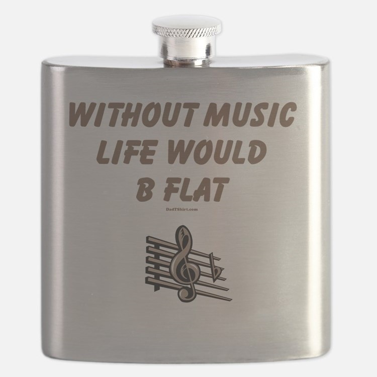 Be Flat 3 flat Flask