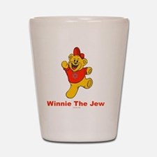 Winnie tHe Jew flat Shot Glass