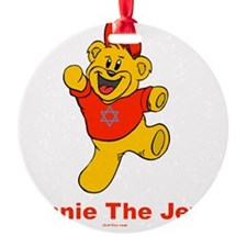 Winnie tHe Jew flat Round Ornament