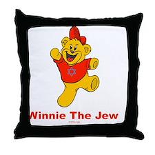Winnie tHe Jew flat Throw Pillow
