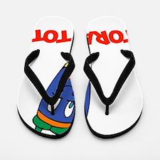 Torah Tot 2 flat Flip Flops