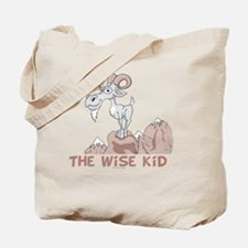 Wise Kid flat Tote Bag