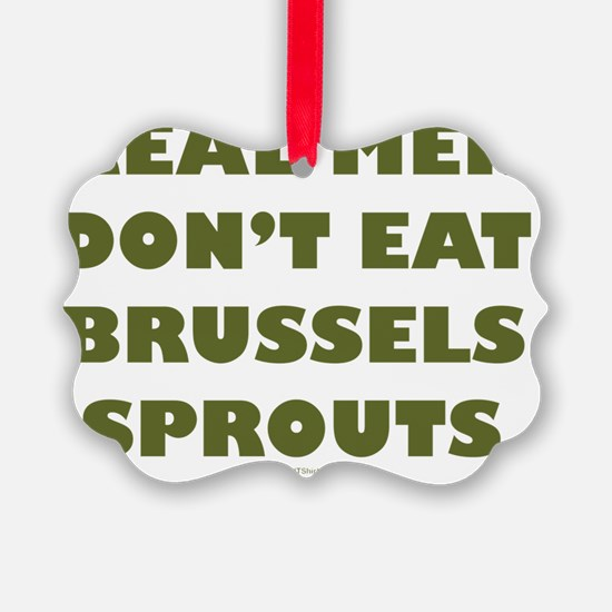 Brussels Sprouts flat Ornament