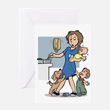 24/7 mom Greeting Card