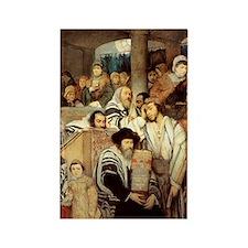 Pray Yom Kippur Rectangle Magnet