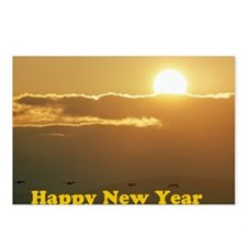 HAppy NY SUnrise Postcards (Package of 8)