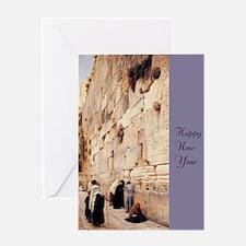 Happy NY Wall Greeting Card