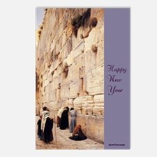 Happy NY Wall Postcards (Package of 8)