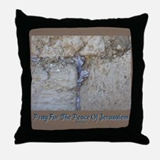 Peace Jerusalem 1 Throw Pillow