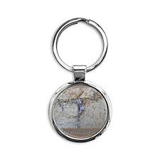 Peace Jerusalem 1 Round Keychain