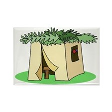 Sukkah Rectangle Magnet