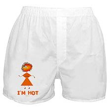 IM HOT 5 flat Boxer Shorts