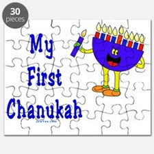 My First Chanukah Blue flat Puzzle