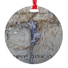 Pray Jeru Large Poster Ornament