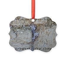 Pray Jerusalem 3 Ornament