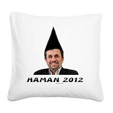 Haman 2012 2 flat Square Canvas Pillow