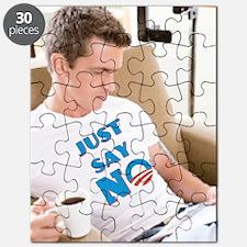 Just Say No Anti Obama Puzzle