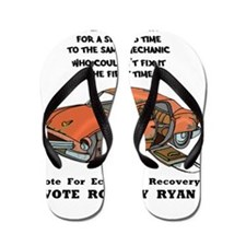 Vote For Economic Recovery Flip Flops
