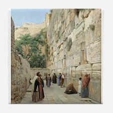 Jerusalem Peace  Tile Coaster