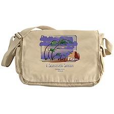 I Survived Sandy Messenger Bag