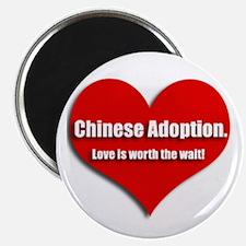 Chinese Adoption Love Magnet
