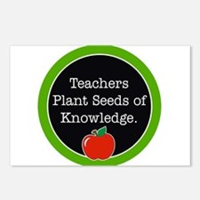 Teachers plant seeds Postcards (Package of 8)