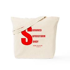 Survived Superstorm Sandy Tote Bag