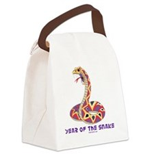 Year Of The Snake Canvas Lunch Bag