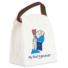 My First Passover Canvas Lunch Bag