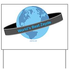 Worlds Best Zeyde Yard Sign