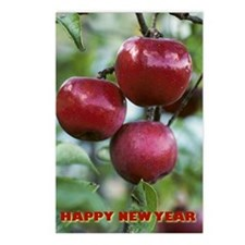 Jewish New Year Apples Postcards (Package of 8)